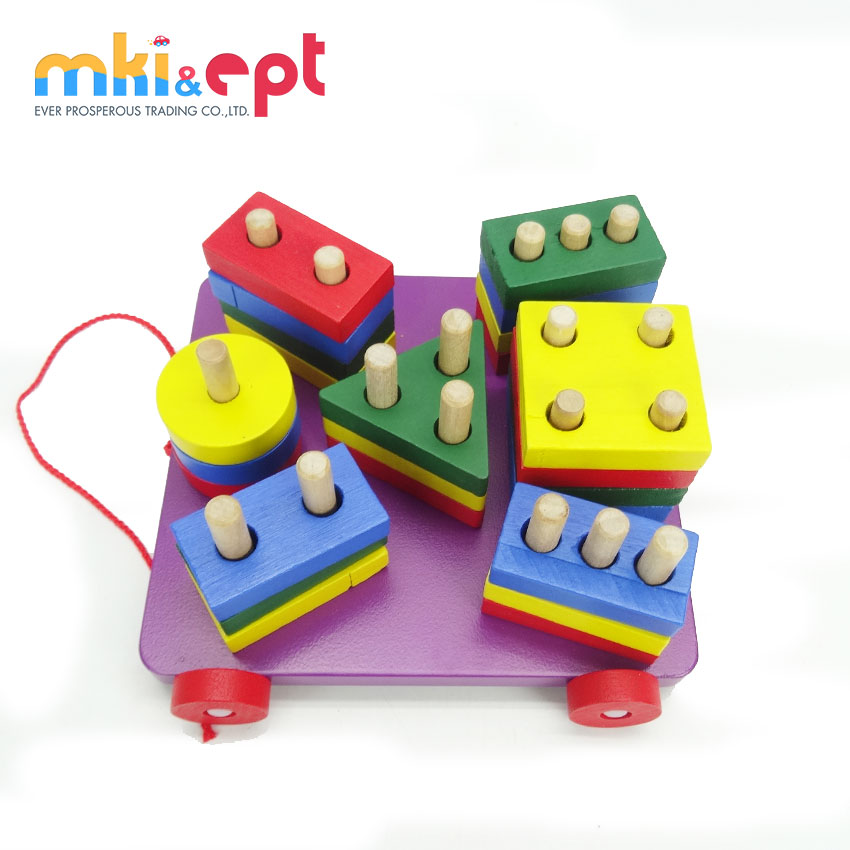 Top quality baby educational wooden toys for sale