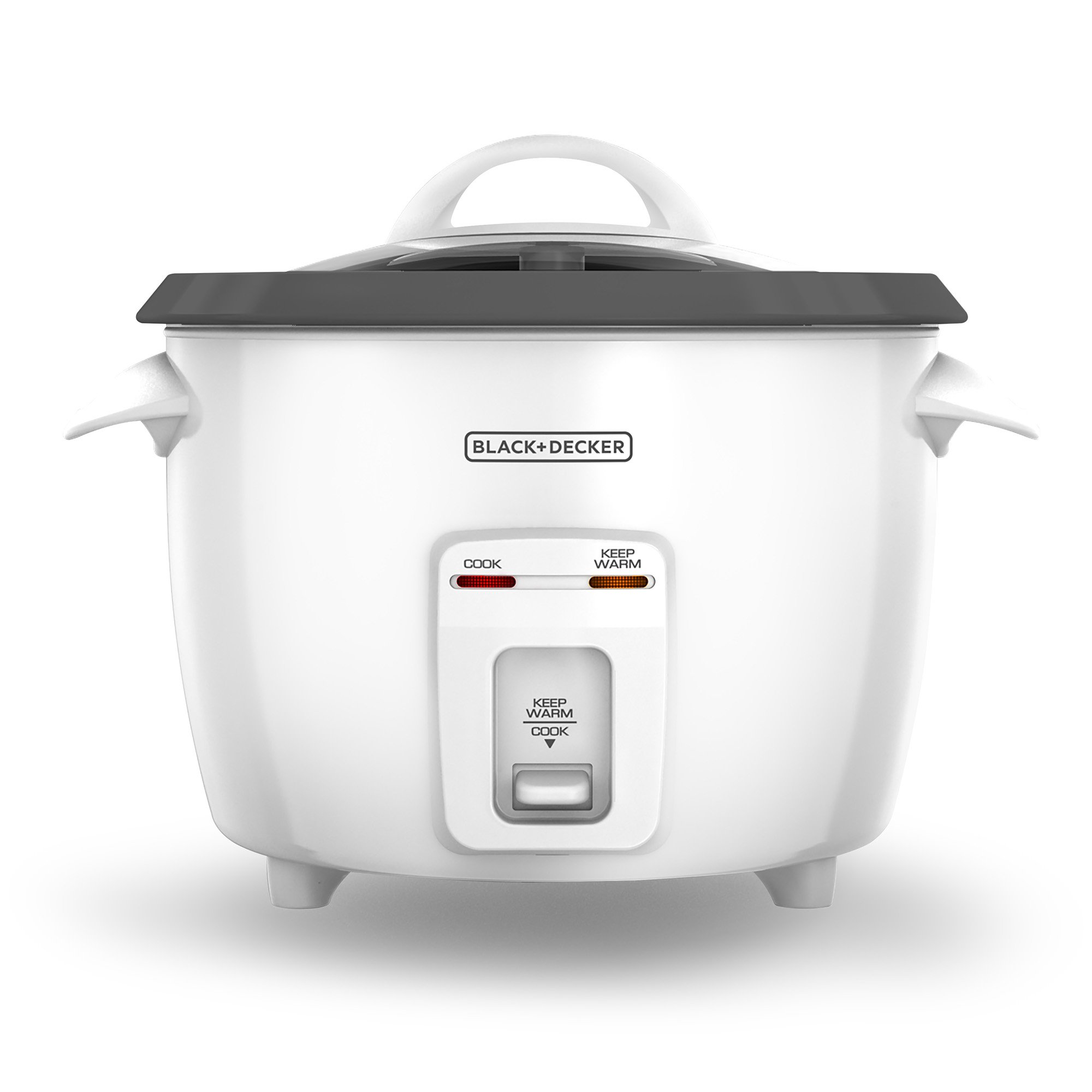 Get Quotations · BLACK+DECKER RC3314W 8-Cup Dry/14-Cup Cooked Rice Cooker,