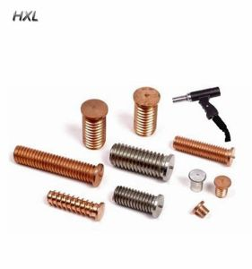 M4 M5 M6 M8 M10 All Material Brass Metal Welding Screw CD Weld Studs In Factory Price