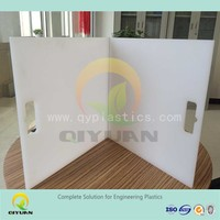 UHMW-PE/ HDPE plastic product, solid plastic block, chopping board