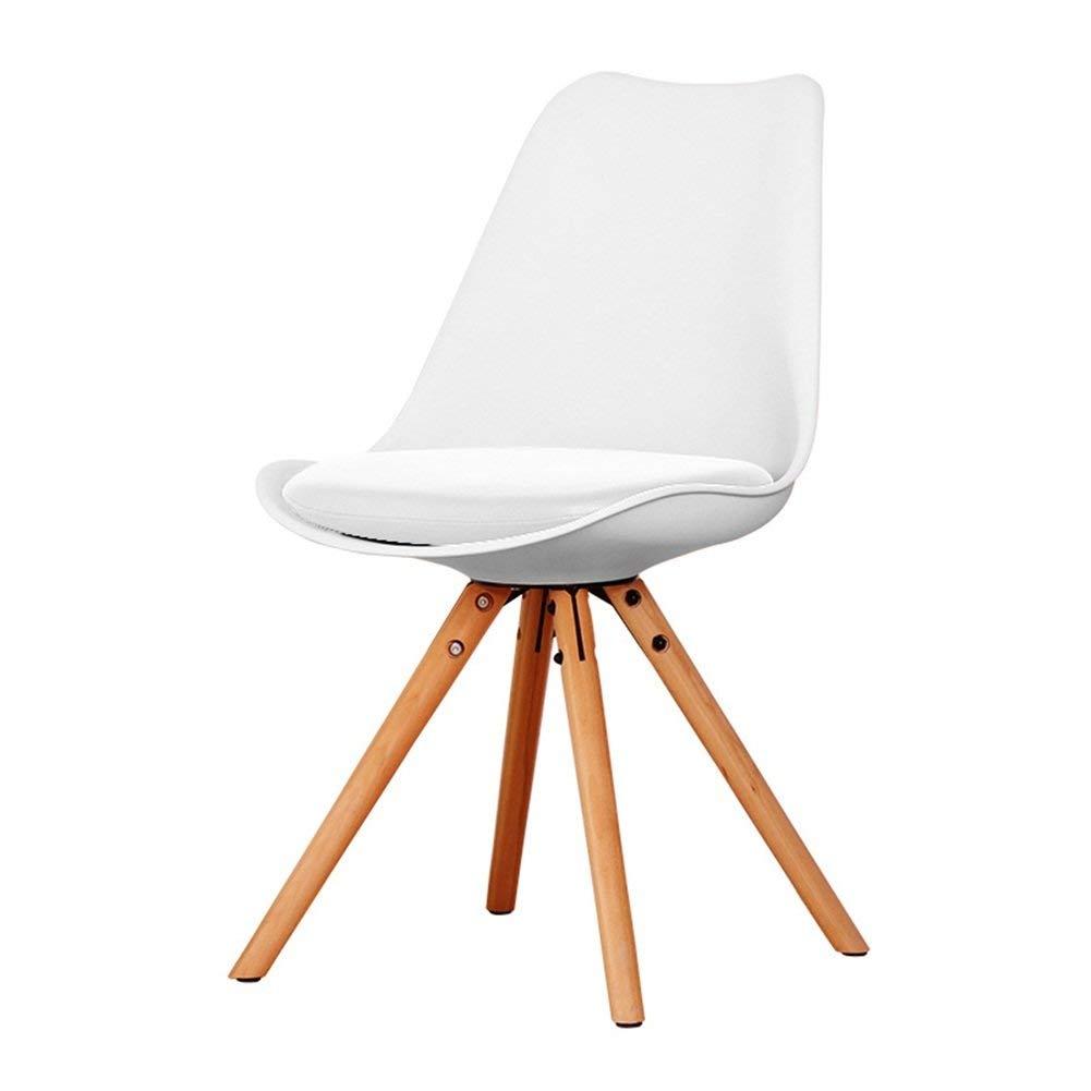 LQQFF Fashion Dining Chair, Wood Backrest Chair Business Talk Chair Cafe Chair - Dining Chair (Color : B)