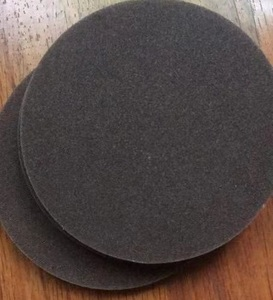 XT-107 Sponge black sandpaper for glass