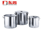 1.0mm Thickness Stainless Steel Stock Cooking Pot For Restaurant Kitchenware