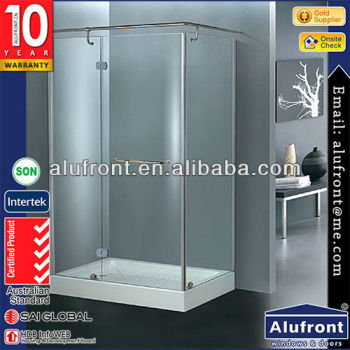 Modern Design frameless sliding shower screen doors
