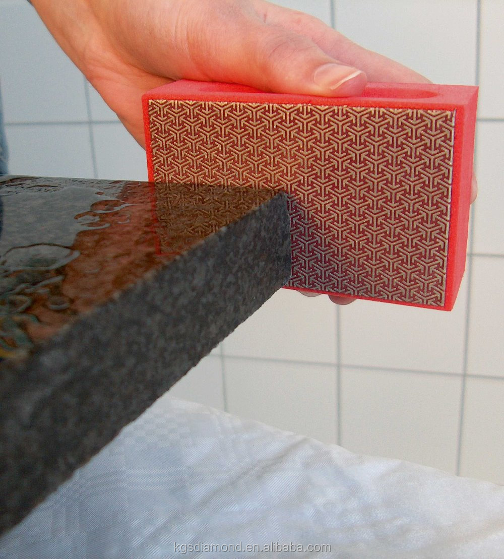 Kgs Diamond Abrasive Tools Grinding Pad For Glass Stone Edging ...
