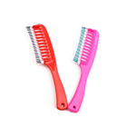 PS material transparent color magic easy combs magic eco friendly hotel comb