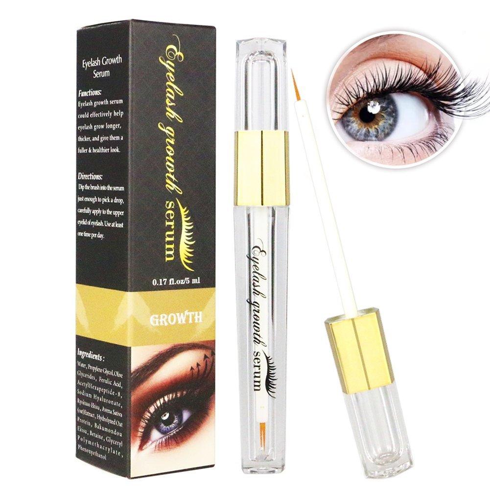 3070fbed96e Get Quotations · Angmile Lengthen Eyelash Treatments Natural Growth  Enhancer Eyelash Longer Thicker Better than Eyelash Extension Liquid Serum