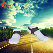 2017 most popular custom cotton socks Adult teenager Soccer socks outdoor sport socks