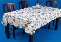 Wholesale home banquet use recycled fruits pattern party tablecloth
