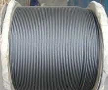 galvanized steel wire rope, pvc coated steel wire, elevator steel wire rope