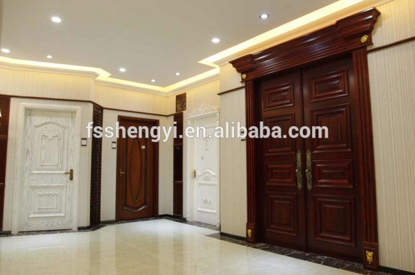 Interior wooden glass sliding doors home decorative Sliding glass partitions home
