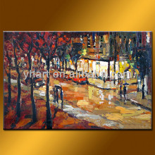 Wholesale 100% handmade simple art painting abstract