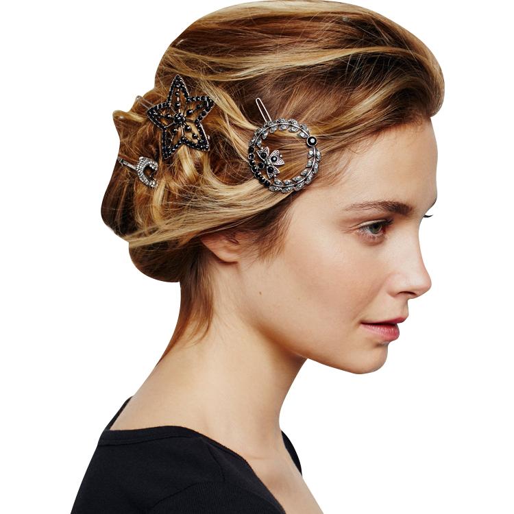 बाल पंजा क्लिपर गौण Barrettes लड़की फूल मोती बाल क्लिप, सोने बाल के लिये कांटा क्रिस्टल तितली Hairgrips बाल पिन