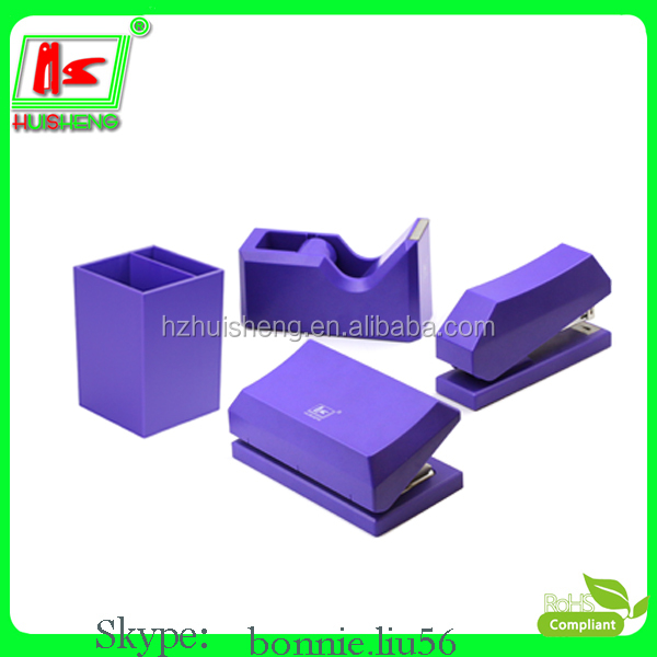 custom logo square plastic pen holder container