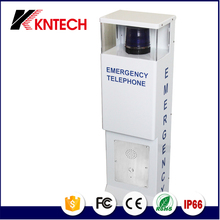 KNTECH KNEM-25 Cold rolled steel railway station subway taxi hotel blue auto dial courtesy phone emergency telephone
