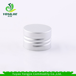 28mm water bottle screw caps silver aluminum cap for glass bottle