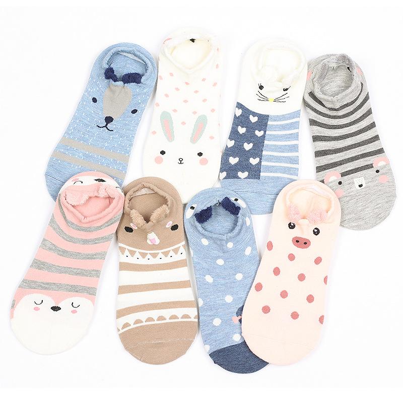 Cotton Ankle Socks Wholesale Cute Teen Girls 3d Socks