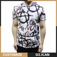 Wholesale Custom Made Premium Cotton Men Clothing Fashion Shirt 2017