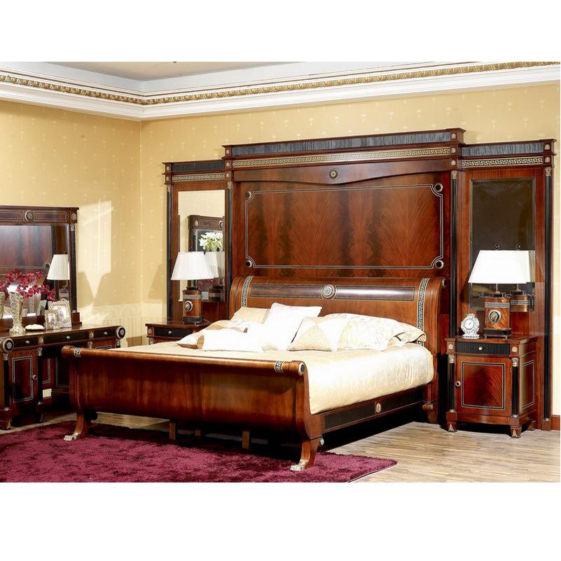 Yb10 Italy Traditional Antique Mahogany King Size Master Bedroom Set Royal  Solid Wood Villa Bedroom Furniture - Buy Royal Luxury Italy Mahogany ...