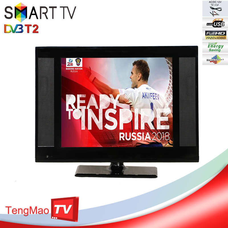 NATIONAL DIGITAL TV 19 INCH DVB T2 LED TV WITH MANUFACTURER