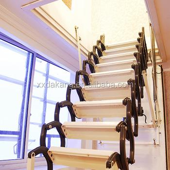 Cheap Wooden Attic Loft Stair Ladder