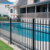 aluminium fence panels for home and garden