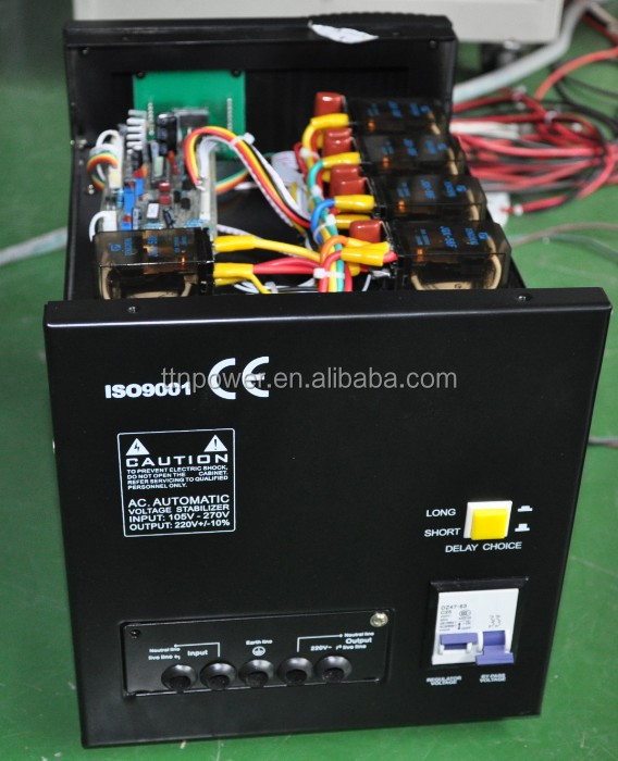 PC-DVR 5KVA Relay Control AVR Voltage Stabilizer / Voltage ...