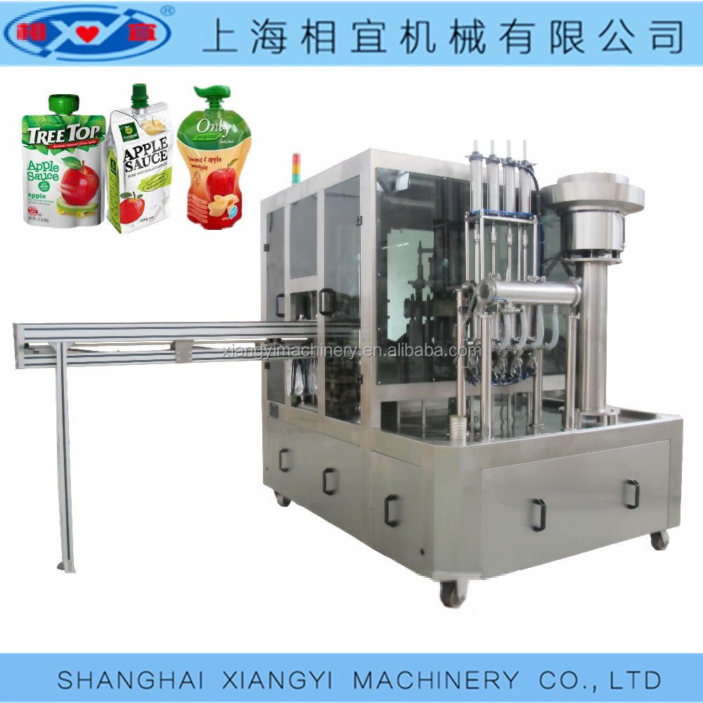 chocolate tube automatic rotary spout pouch filling machine