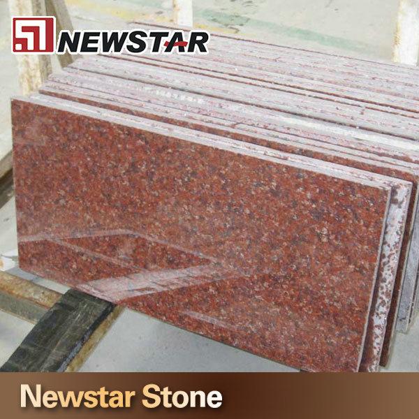 30 60 Ruby Red Color Granite Floor Tiles