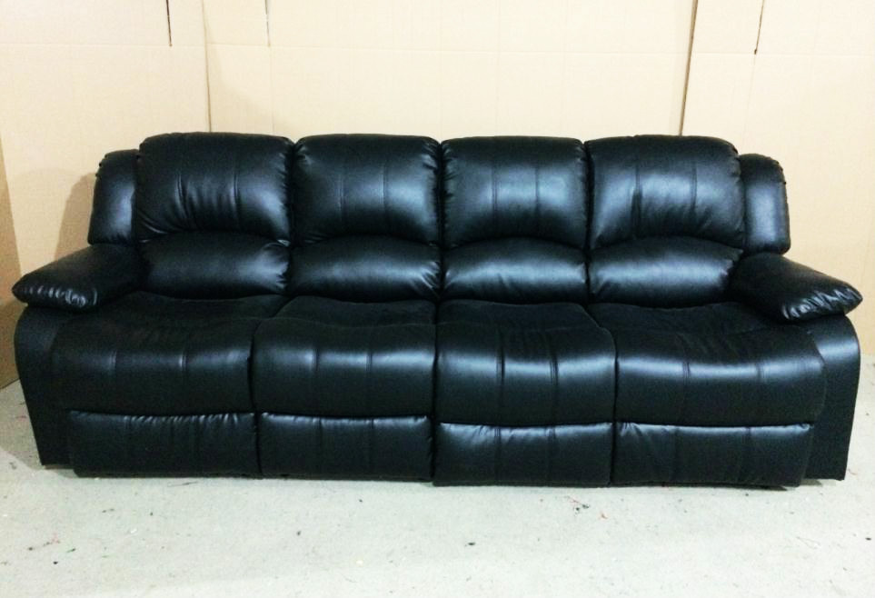 Four Seater Recliner Sofa 4 56 With
