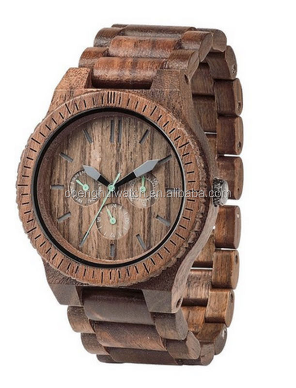 teakwood luxury wooden watch for men