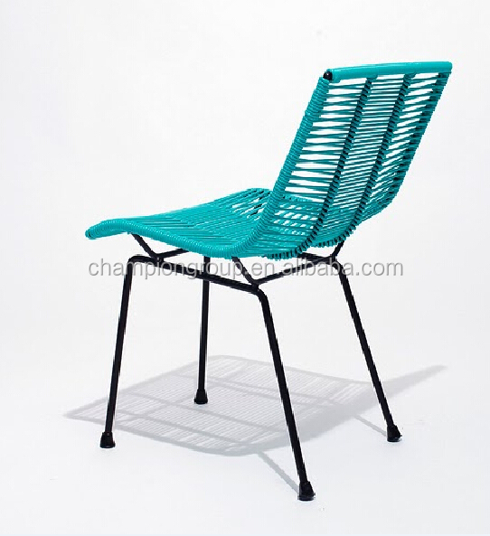 Color String Mexico Design Steel Chair For Outdoor WR 3658