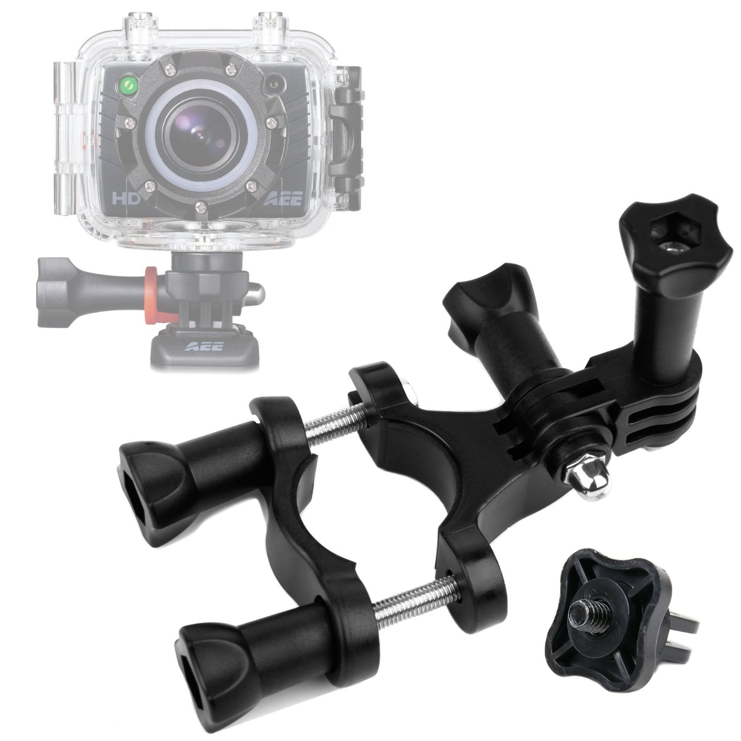 Cam ST4K AEE S70 PRO Action Camera Bundle Compatible with PNJ Cam AEE S50 PRO