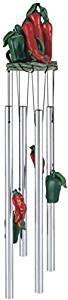 StealStreet SS-G-41958 Wind Chime Round Top Chili Musical Hanging Garden Porch Decoration