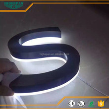 Professional advertising led plastic and metal letter sign manufacture