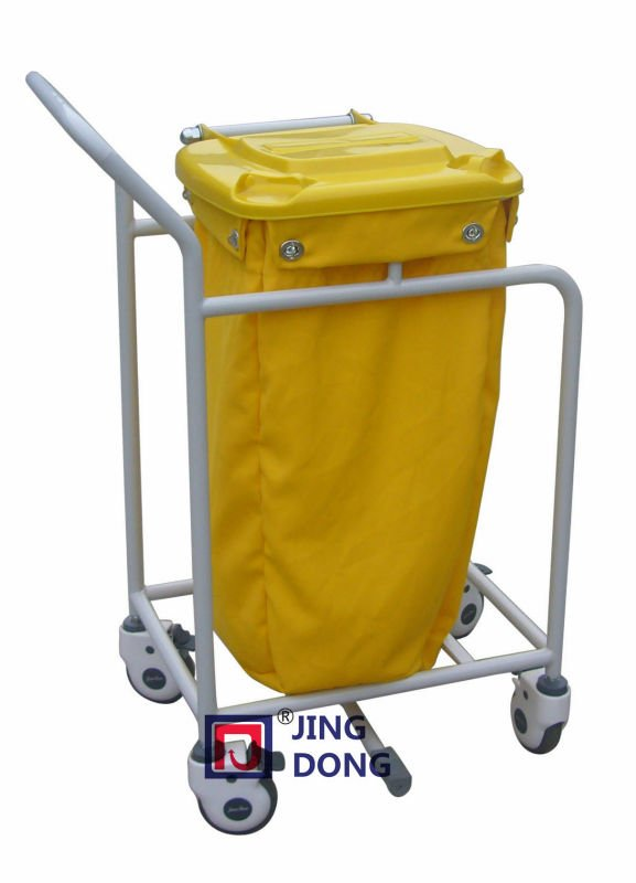 Movable Plastic Hospital Laundry Cart