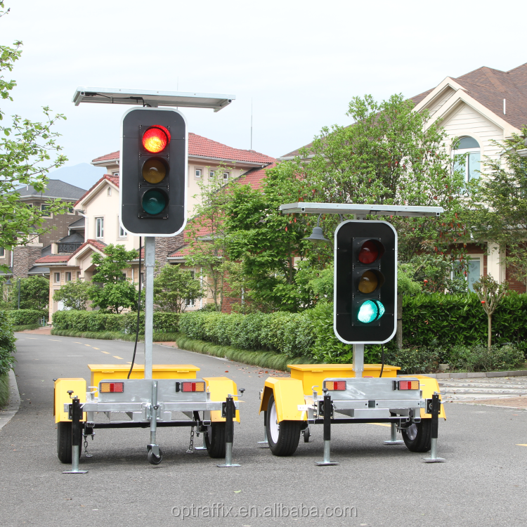Odm Solar Powered Remote Control Stop Light Signs For Sale Led ...