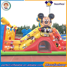 Factory sales, inflatable cartoon characters slide, children inflatable theme slide sale