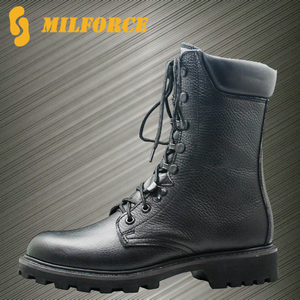 Factory price South Africa design goodyear welt military army combat boots