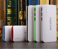 Power Bank Portable External Battery Pack LED Indicator 3 USB Powerbank Mobile Charger for Phones Tablets