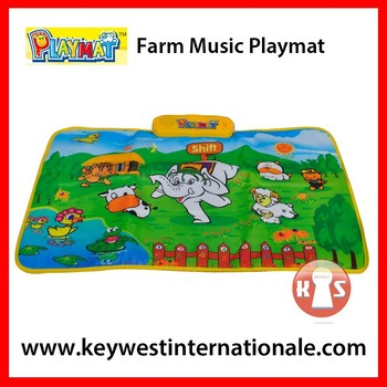 Farm Music Playmat