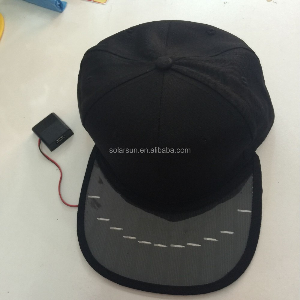 Wholesale china new solar cap <strong>manufacturing</strong>,nylon solar cap