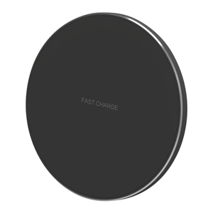 IBD Factory Direct Sale Aluminium Alloy QI Standard 10W Fast Charging Wireless Charger