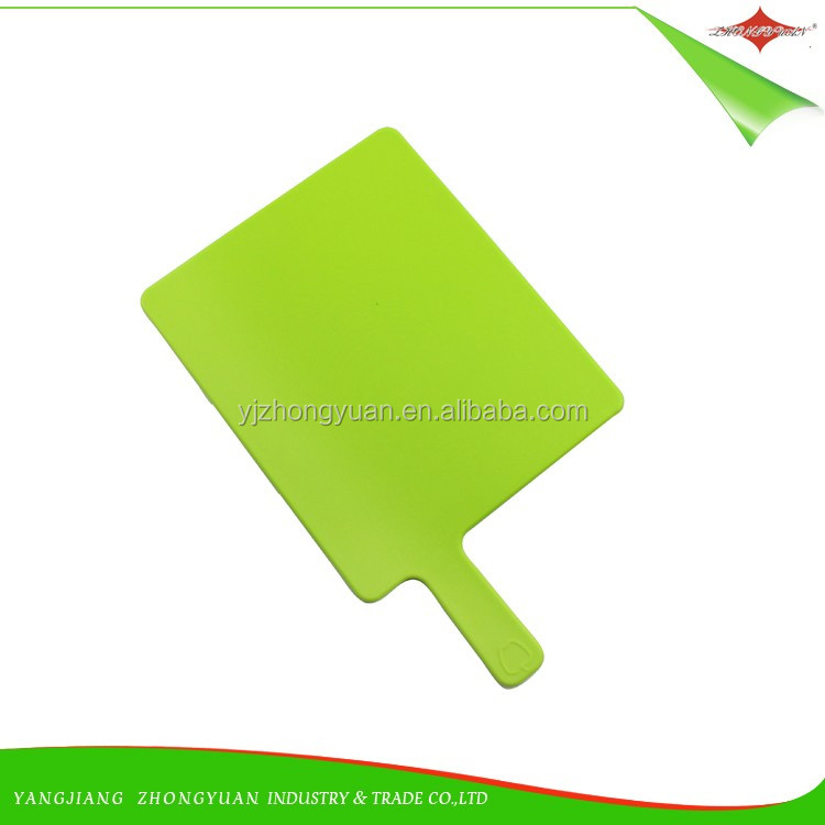 ZY-R1021 Kitchen plastic cutting Product anti-slip kitchen chopping board with stand