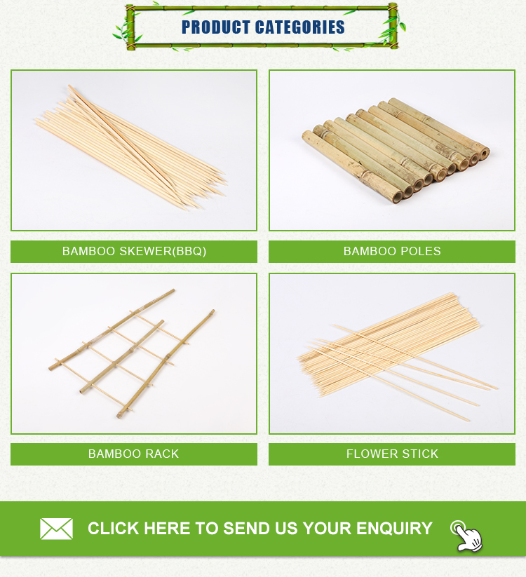 30 cm Bedrukt BBQ Natuurlijke Teppo paddle Bamboevleespen