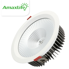 30W D1R Item High Power 8.0inch Recessed LED Dimmable Harga Lampu Downlight COB LED