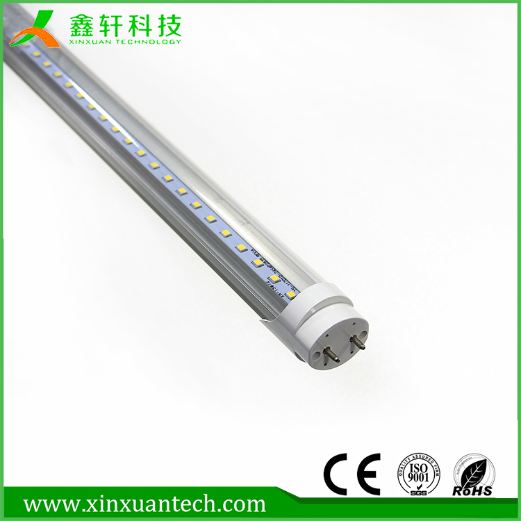 CE ROHS AC85V-265V Aluminum t8 tube 1200mm led tube light housing