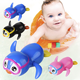 hot selling plastic Wind Up Swimming Penguin Child bath toy