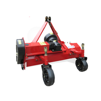 China Agro machines mini tractor professional farm PTO driven tow behind small garden lawn mower grass flail mower for sale