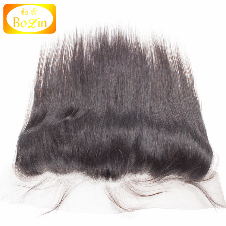best grade cheapest price 13*4inch silky straight lace frontal indian remy hair large is stock